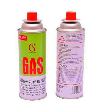 BBQ Fuel Cartridge Butane Fuel Cartridge 220g-250g butane fuel special camping printing samples