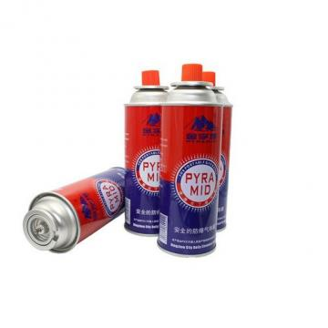 For portable gas stoves Prime butane gas cartridge and butane gas canister
