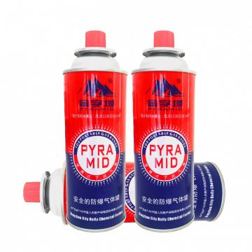 220g Portable Butne Gas Can for barbecue in the wild