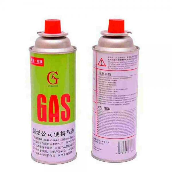 For portable gas stoves Butane Gas Cylinder fuel transfer equipment Camping Mini Portable radiographic inspection lpg cylinder